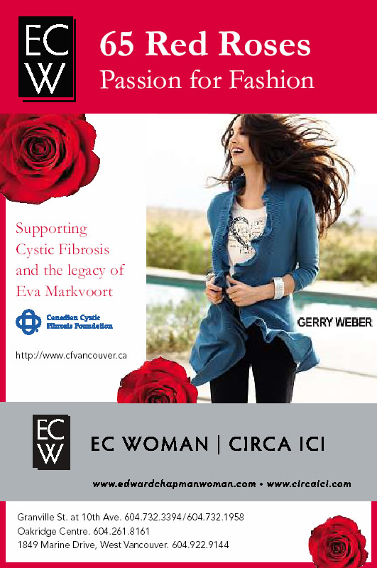 Edward Chapman WOMAN's Passion For Fashion supporting the legacy of Eva Markvoort