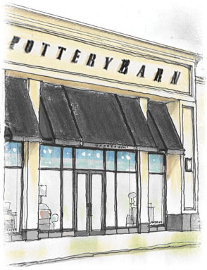 Receive one-on-one decorating advice from a Design Studio Specialist from Pottery Barn on South Granville, Vancouver, BC Canada